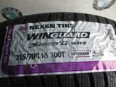 Шины 215 70 16 Nexen Winguard Snow G WH2 Новые